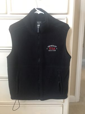 Black women's fleece vest for Sale in Washington, DC