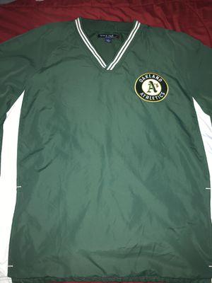 Oakland Athletics Vintage Coach V-Neck Wind Shirt for Sale in Sacramento, CA