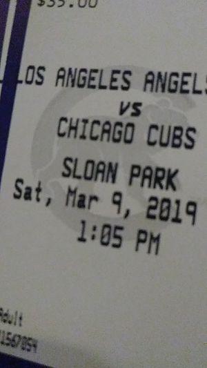 Cubs vs Angels $65 each lawn seats for Sale in Phoenix, AZ