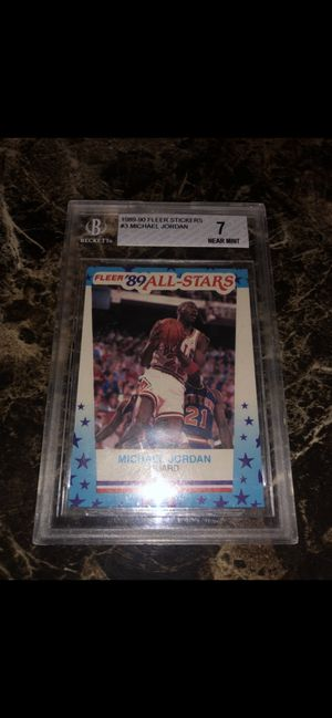 Micheal Jordan card $40/ trade for Sale in Los Angeles, CA