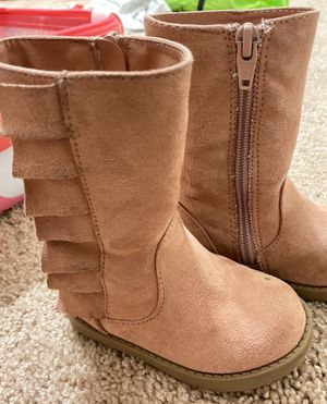 Pink Toddler girl boots 5C for Sale in Riverview, FL