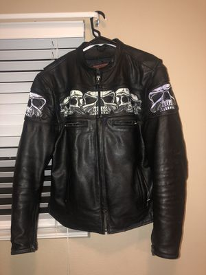 Large Leather Motorcycle Jacket for Sale in Denver, CO