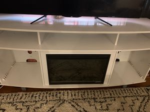 72 inch fireplace tv stand for Sale in Columbus, OH