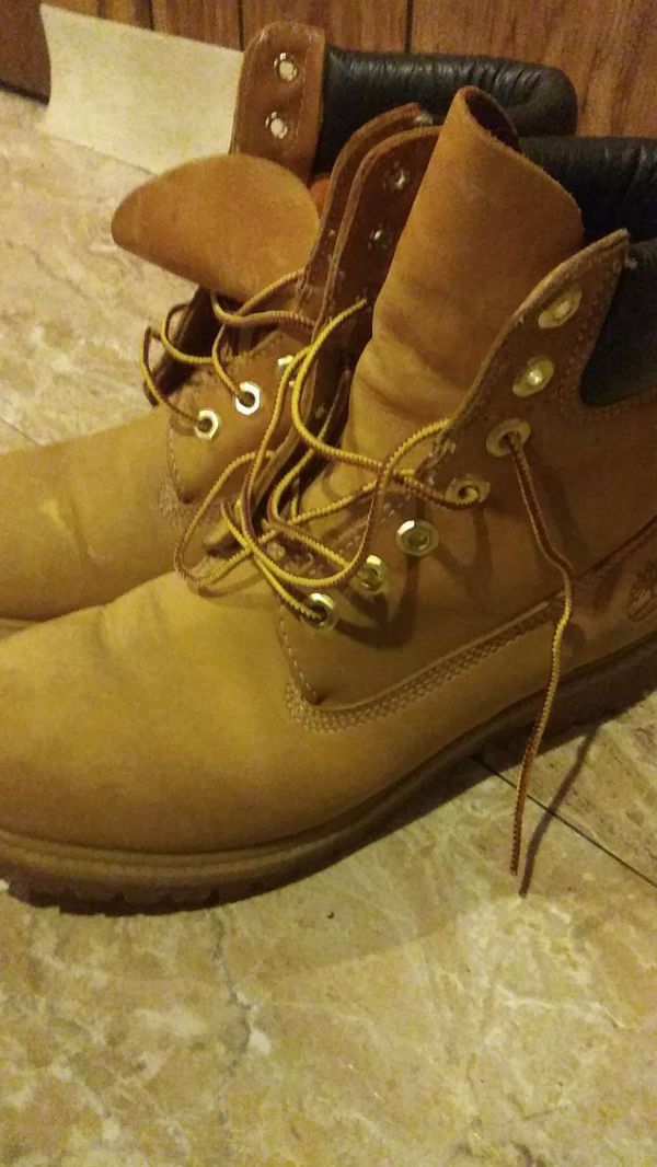 Timberland work boots used $10 or best offer
