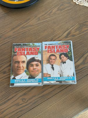 Fantasy Island the Complete first season 4 dvd discs for Sale in Toms River, NJ