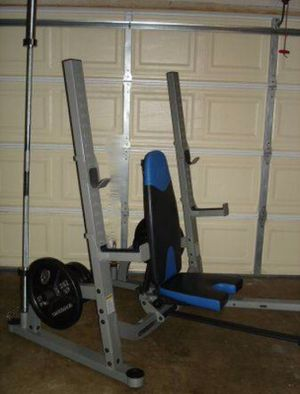 Nautilus Bench Press Squat Rack for Sale in Portland, OR