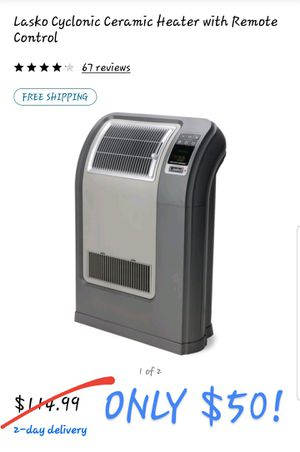 Lasko Cyclonic Digital Ceramic Heater NEW IN BOX for Sale in Tupelo, MS
