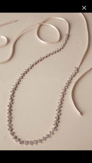 custom made rhinestone Belt | Wedding dress sash for Sale in San Francisco, CA