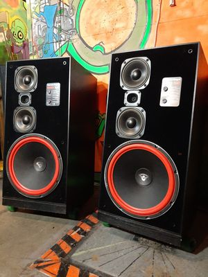 Cerwin Vega 380SE speakers with new matched 15 inch woofers for Sale in Federal Way, WA