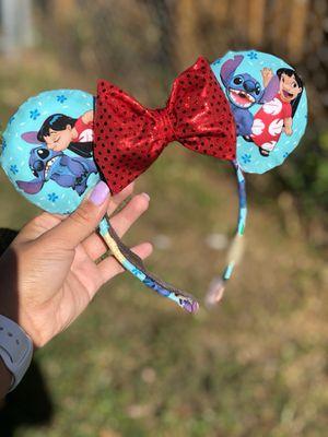 Custom Disney Lilo and Stitch Minnie Ears for Sale in Miami, FL