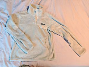 White Patagonia Pullover Size Small for Sale in Morrisville, NC