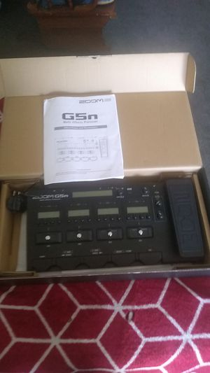 Zoom G5n guitar multi effects processor for Sale in Elma, WA