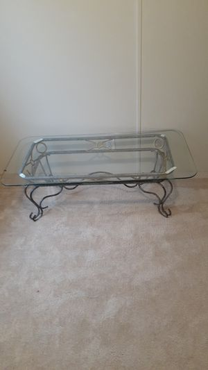 Glass table for Sale in Raleigh, NC