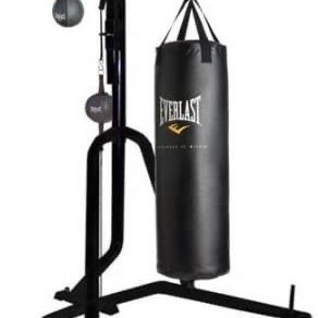 Everlast 3 Station Punching Bag With Stand for Sale in Annandale, VA
