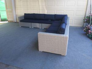 Outdoor patio wicker sofa for Sale in Woodland Hills, CA