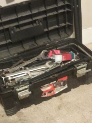Black and decker tool box with toools for Sale in Wichita, KS