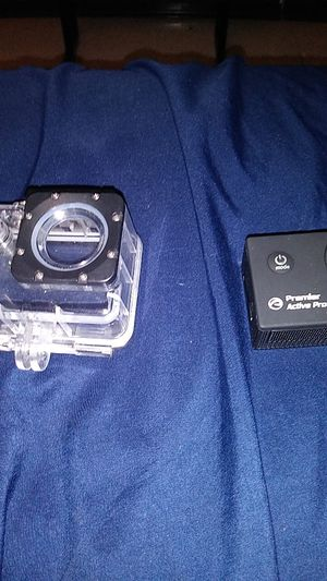 Premier active Pro Camera comes with the case to for Sale in Odessa, TX