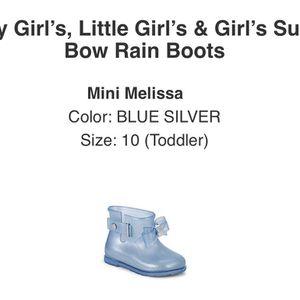 Brand New In Box:Mini Melissa Rain Boots Size 10 for Sale in Fresno, CA