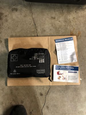 Mercedes-Benz first aid kit 168 pcs for Sale in Puyallup, WA