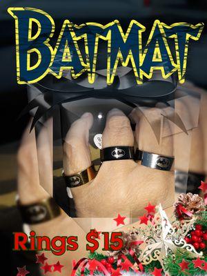 Titanium Batman rings for Sale in AMELIA CT HSE, VA