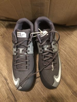 New Nike baseball shoes size 14 for Sale in Chandler, AZ