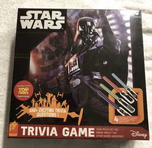 Star Wars trivia game (new) for Sale in Corona, CA