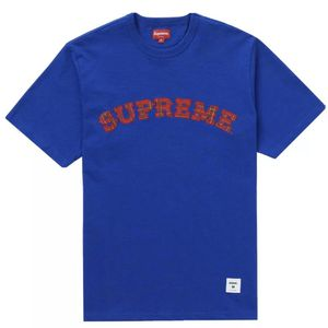 Supreme Plaid Applique S/S Top Royal Tee - Large Size - Brand New for Sale in Atlanta, GA