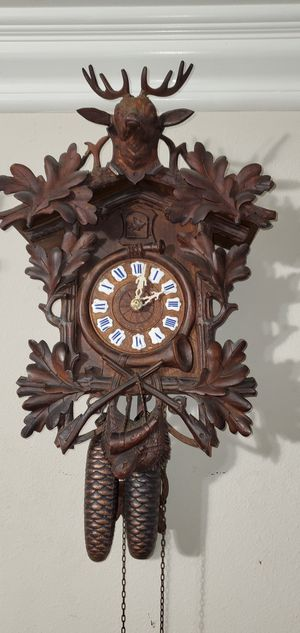 Antique Cuckoo clock made in Germany year 1900. for Sale in Anaheim, CA