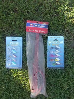 New fishing Stuff Only $10 for Sale in Ontario, CA