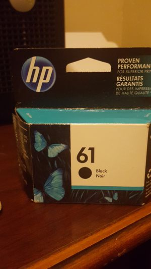 HP black ink,completely sealed. Un opened for Sale in Lawton, OK
