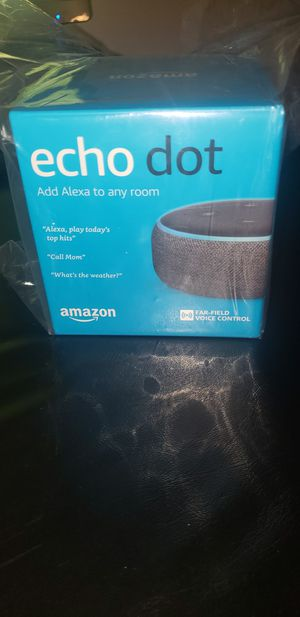 Amazon Echo 3rd Generation for Sale in Downers Grove, IL