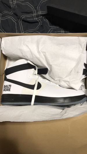 NIKE LUNAR FORCE 1 HYP HI CITY QS 'BALTIMORE RARE!! for Sale in Portland, OR