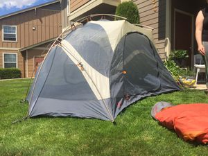 Tent sleeping bag package go camping for Sale in Beaverton, OR