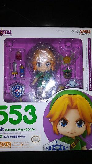 New Nendoroid Link Majora's Mask 3D Ver Action Figure Legend of Zelda Good Smile for Sale in Turlock, CA