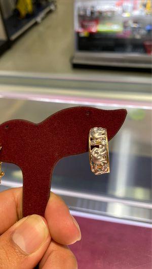 14k gold diamond elephant earrings for Sale in Houston, TX