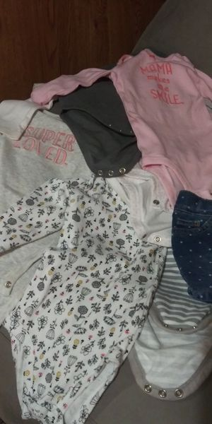 Baby girl clothes from 6 -12 mos all differnent kinds. for Sale in Redlands, CA