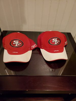 49er fitted hats OSFA reebok for Sale in San Jose, CA