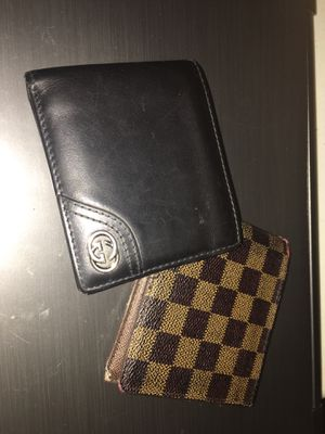 Louis V & Gucci Wallet for Sale for Sale in Aspen Hill, MD