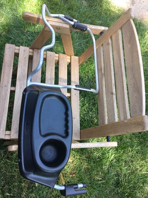 Chicco Keyfit Car Seat & Base (exp 2023, no accidents) and BOB DUALIE Stroller attachment/snack tray for Sale in Coronado, CA