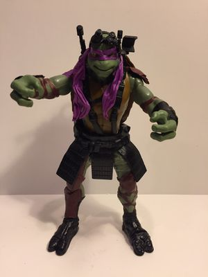 2014 Donatello - 11 Inch - Out Shadows TMNT - Teenage Mutant Ninja Turtles - Vintage Action Figure Toy Movie for Sale in Lisle, IL