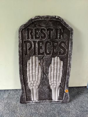 Halloween- gravestone decoration for Sale in Berlin, CT