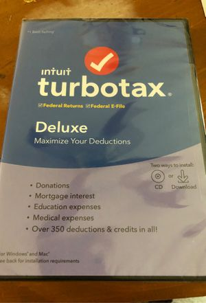 Turbo tax for 2019 for Sale in Coral Springs, FL