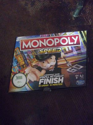 Monopoly speed & Monopoly 2player for Sale in San Antonio, TX