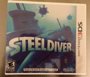 New! Nintendo 3ds - Steel Diver for Sale in New York, NY
