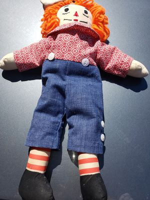 """Applause Plush Raggedy Ann & Andy RAGGEDY ANDY ONLY 12"""" Stuffed Animal Doll Boy for Sale in Kent, WA"""