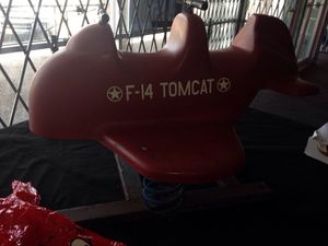 F-14 Tom cat bouncer antique for Sale in Caledonia, MI