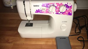 sewing machine / basically new brother LS-2000 sewing machine for Sale in Sanford, NC