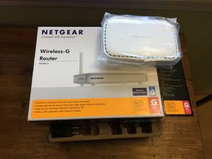 Netgear wireless g router for Sale in Portland, OR