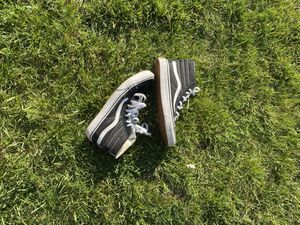 Black And white high top vans for Sale in Westbury, NY