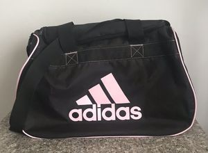 Adidas Duffle Bag Black and pink for Sale in Worth, IL